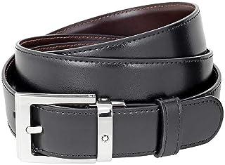 MontBlanc 万宝龙 男式 腰带 107664 黑色/棕色 120 * 3cm
