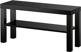 IKEA LACK Mesa auxiliar mueble TV negro