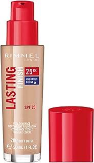 Rimmel London Lasting Finish 25Hr Liquid Foundation, 200 Soft Beige, 112 grams