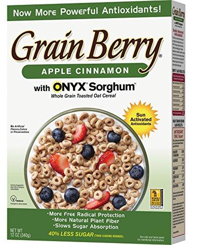Grain Berry Apple Cinnamon Cereal, 12 Ounce