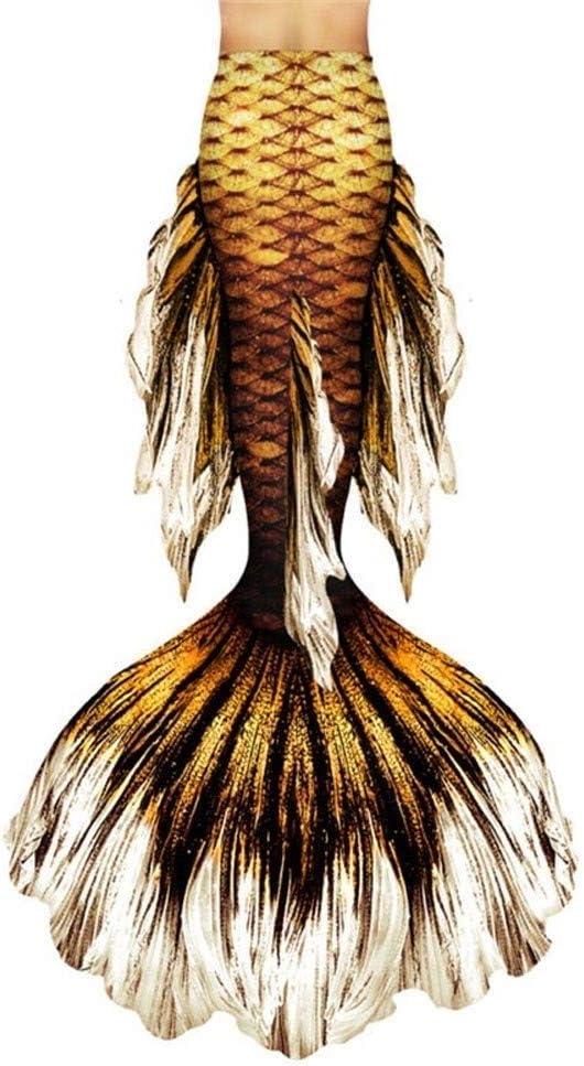 RTYU Mermaid Tails Swimsuit with Fin Swimming Costume,Mermaid Ta