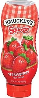 Smucker's Squeeze Strawberry Fruit Spread, 20 Oz