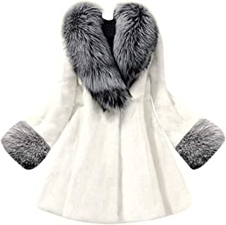 Women's Long Hooded Mink Coat Women's Autumn and Winter Casual Warm Coat Shirt Outwear Tops
