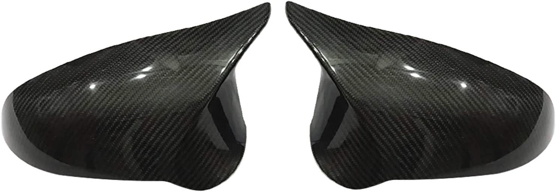 Bombing new work Super Special SALE held LQIAN Door Mirror Cover Car Pair Rearview 1 for Fit