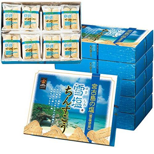 沖縄 土産 雪塩ちんすこう(大) 6箱セット (国内旅行 日本 沖縄 お土産)