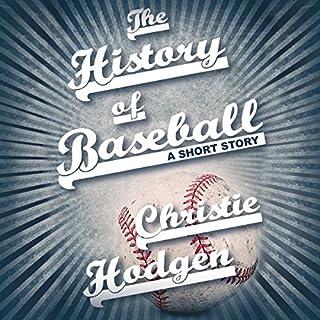 The History of Baseball cover art