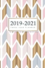 2019-2021 Three Year Planner: 36-Month Calendar Personal Planner for the Next Three Years and Appointment Agenda Organizer Notebook with Holidays January 2019 to December 2021