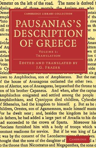Pausanias's Description of Greece (Cambridge Library Collection - Classics) (Volume 1)