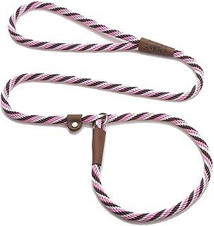 "Mendota Pet Slip Lead, 1/2"" X 4`, Pink Chocolate, Dogs"