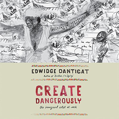 Create Dangerously audiobook cover art