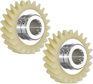 wpw10112253 W10112253 Mixer Worm Gear Replacement Part Fit for Mixers-Replaces 4161531 4162897 4169830 WPW10112253VP 2PCS