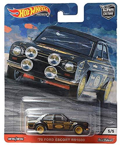 Hot Wheels HW GJP80 '70 Ford Escort RS1600 Puerta Slammers 5/5 Cultura Coche 1:64