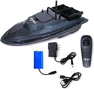 PIKAJIU Remote Control Fishing Bait Boat-Fish Finder 1.5kg Loading 500m Fishing Tool Smart RC Boat Toy Wireless Smart Fishing Devicefor Kids or Adults (A)
