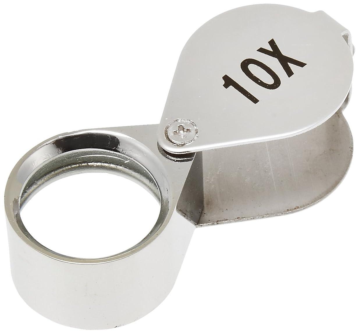 努力する採用するハンサムTSK 高倍率ルーペ 倍率10倍 レンズ径20mm DO-101