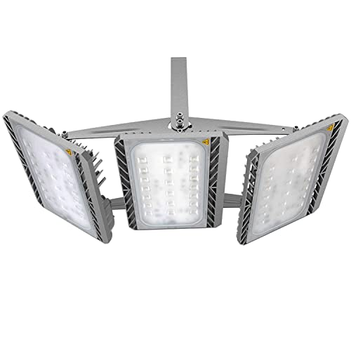 LED Flood Light, STASUN 300W 27000lm LED Outdoor Security Lights with Wide Lighting Area,