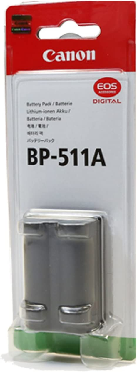 Canon BP511A 1390mAh Lithium Ion Austin Mall Battery Digital for Super beauty product restock quality top! Pack Select