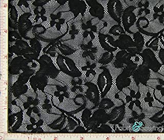 4 way stretch lace fabric