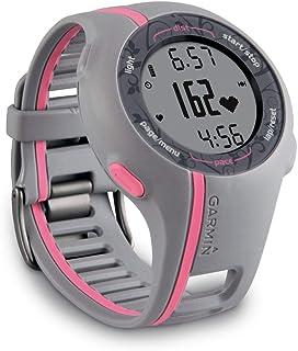 ساعة جارمين فوررنر 110 بخاصية جي بي اس ومراقب للنبض رياضية (زهري)