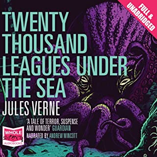 Twenty Thousand Leagues Under the Sea cover art