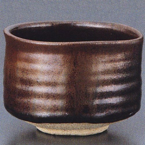 Fantastic Deal! Matcha bowl TetsuçÖShibata Tadashi-saku Kiri-bakoIri pottery Mino