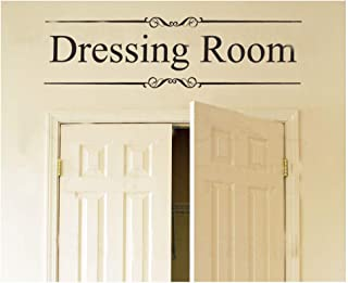 Homefulcomely PVC Wall Stickers English Dressing Room locker European glass home decorationWallpaper91.4cm x25.4cm