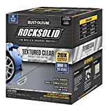 Best Garage Floor Epoxies - RUST-OLEUM 317382 120 oz Clear Rock-Solid Floors Polycuramine Review