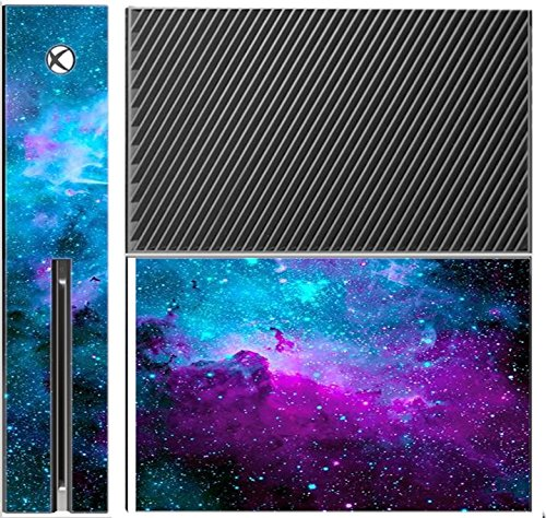 Trendy Accessories Nebula Galaxy Space Design Pattern Print Xbox One Console Vinyl Decal Sticker Skin