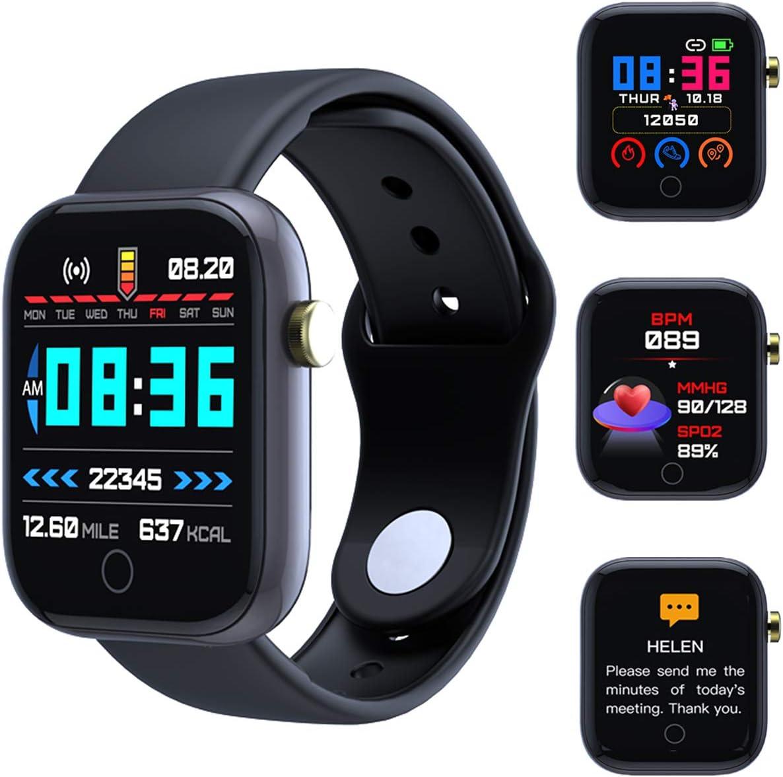 Smart Watch Bluetooth Y68 1.3 Inch Waterproof Pedome Latest item Screen Boston Mall IP68