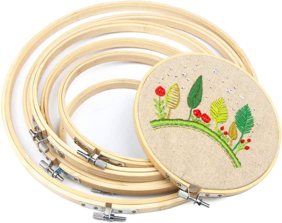 Cross Stitch Hoop Ring Large Circle Bamboo Ranking TOP10 Embroidery Small Free Shipping Cheap Bargain Gift