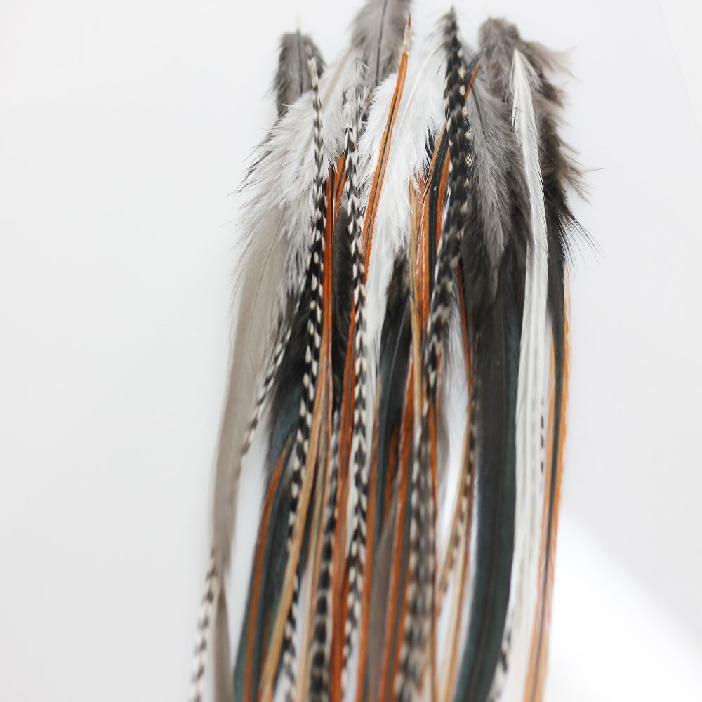 25 Loose Feather 25% OFF Quality inspection Hair Extension 8