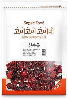 Gomine Korean Dried Cornus Fruit, 300g, Pure Tea, High Fiber & Vitamin A, Everyday Drink, Delicate Flavor, 산수유