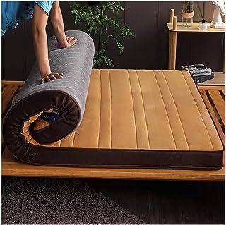 Soft Thick Stuoia del Pavimento di Tatami Matrimoniale Futon Giapponese Topper Dormitorio-B 180x200cm WJH Pieghevole Materasso Traspirante Memory Foam Dormire Pad 71x79inch