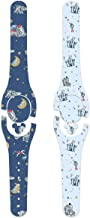 ShopEmilyG Skin for MagicBand 2 Decal   Watercolor Elephant Family MagicBand 2.0 Skin   Made in the USA