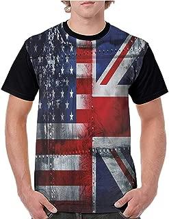 Printed Short Sleeves,Unicorn,Unicorn Fairies Print S-XXL Baseball T-Shirt Tee Tops