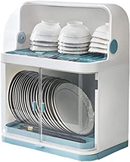 Y-Dish Racks 2-Tier Drain Dish Rack With Cover ,Large Capacity Multi-function Drying Rack With Removable Drain Board,For P...