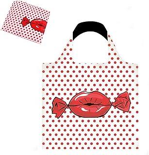 エコバッグ 折り畳み おしゃれ レジバッグ 防水素材 人気 厚手 買い物バッグ マチ広い ポケットサイズ 大きめ 大容量