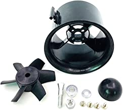 JFtech 6-Blade 70mm Duct Fan Unit Propeller Kit Set for RC Ducted Fan EDF Jet AirPlane Aircraft