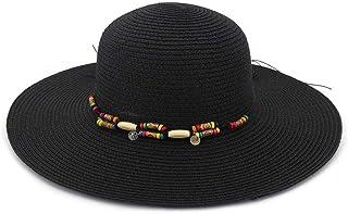SHENTIANWEI New Sunshade Beach Hat Big Along The Hat Fashion Wild Female Straw Hat Summer Holiday Sun Hat