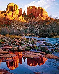 Cathedral Rock 1000 Piece Jigsaw Puzzle