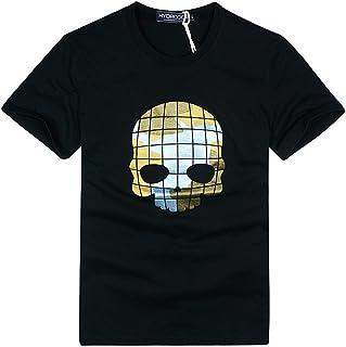 [ハイドロゲン] メンズ Tシャツ おしゃれ ブランド ドクロ スカル カジュアル 半袖 HYDROGEN YC7233 [並行輸入品]