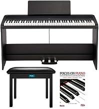 KORG B2SP 88-Key Digital Piano Bundle with Stand, Three-Peda