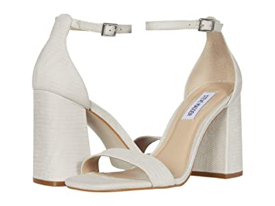 Steve Madden Dillion Heeled Sandal (Bone Lizard) Women