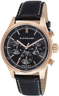 GIORDANO Men's Multi Function Black Dial Watch - 1907-02