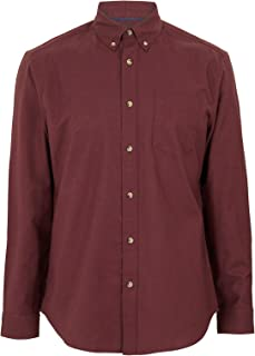Marks & Spencer Men's Easy Iron Pure Cotton Oxford Shirt