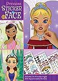 Bendon Princess 32 Page Create-A-Face Sticker Pad 13492