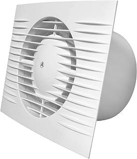 """Extractor de baño 100mm/4""""con ventilador"""