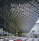 Moderne Architektur. Wandkalender 2020. Monatskalendarium. Spiralbindung. Format 46 x 48 cm