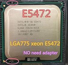 Lntel Xeon E5472 3.0GHz/12M/1600Mhz/CPU Equal to LGA775 Core 2 Quad Q9550 CPU,Works on LGA775 mainboard no Need Adapter