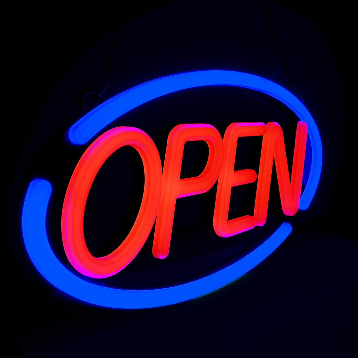LED Business SEAL limited product 1 year warranty Neon Open Sign - 24 Display 12 Bright Store x