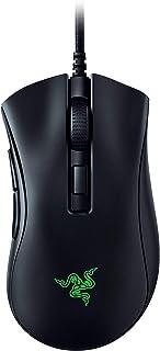 Razer DeathAdder V2 Mini ゲーミングマウス 小型 軽量62g 滑り止めグリップテープ付属 8500DPI 6ボタン 右手エルゴノミック形状 光学スイッチ 柔らかい布巻ケーブル Chroma RGB 対応 【日本正規代理店保証品】 RZ01-03340100-R3M1